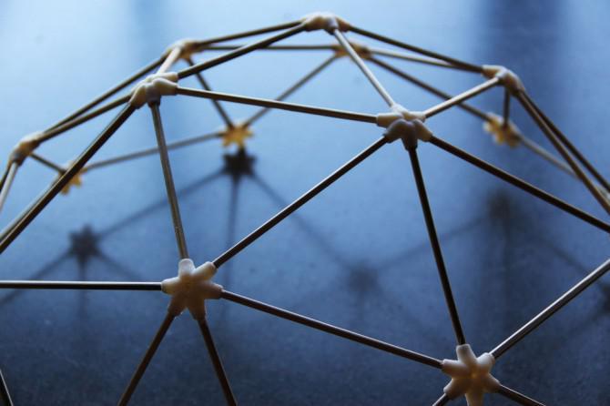 geod tische kuppel erstellen sie eine lampe oder ein raumschiff. Black Bedroom Furniture Sets. Home Design Ideas