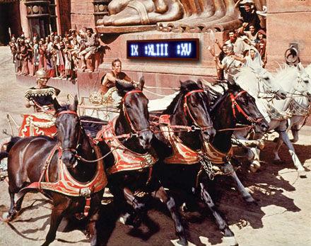 Digitale römische Ziffer Uhr