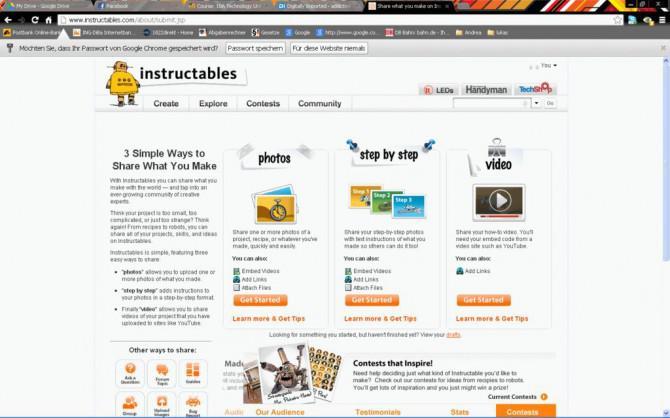 Wie Instructables Schritt für Schritt Foto Tutorial verwenden