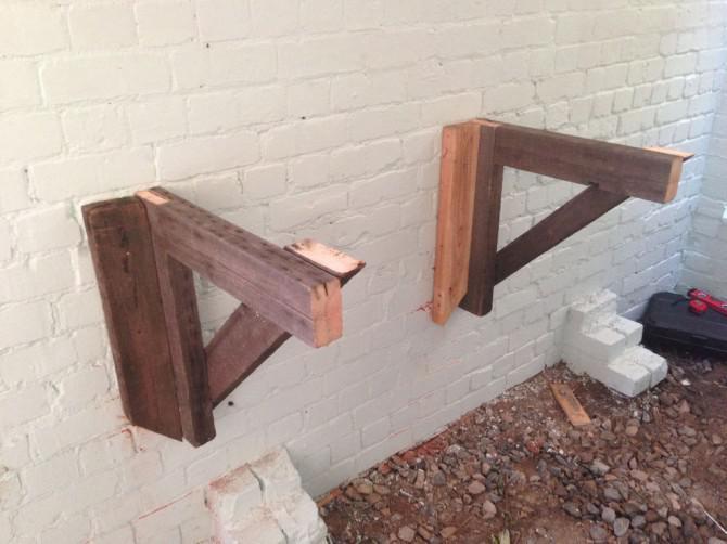 Brachland zu Holzbereich Maker