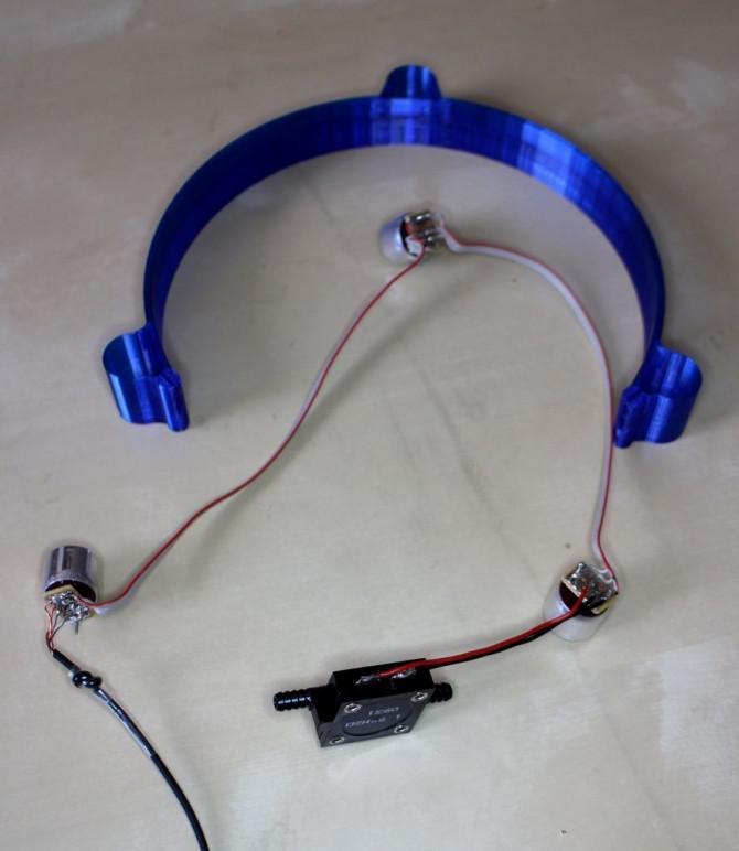 Ultraschall-Headtracker Maus