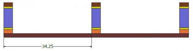 Rustikales Bücherregal oder TV-Ständer