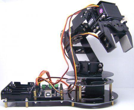 Bluetooth gesteuert arduino Roboterarm