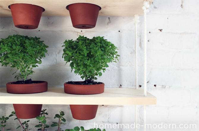 Homemade Moderne DIY Hanging Garden