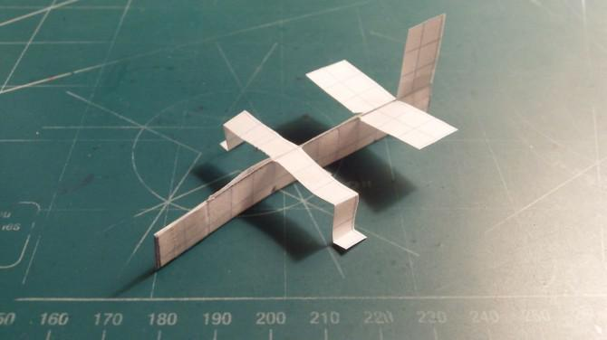 How To Make The Ranger Paper Airplane