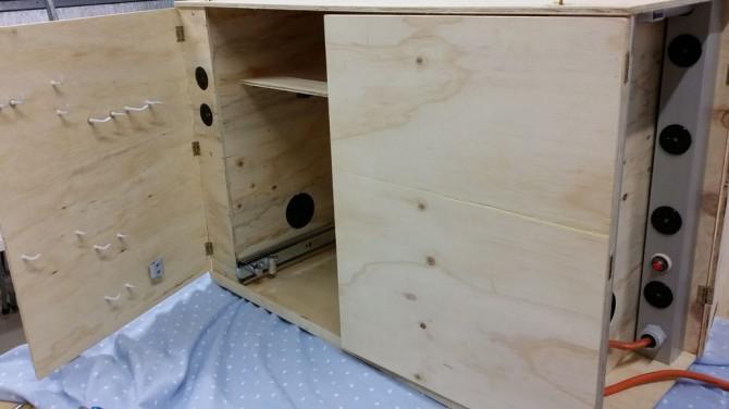 Soundwave Tragbare Elektronik Workstation