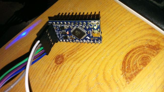 Hochladen skizze bis arduino pro mini mit arduino uno