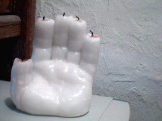 Machen Sie eine Halloween Hand der Herrlichkeit