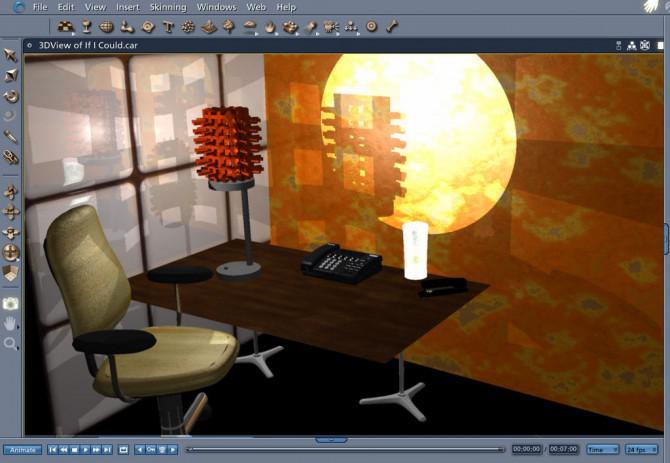123D Make inspirierten Acryl Lampe Mashup