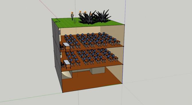 Ein neues Konzept für Kompostierung (Hergestellt dank Sketchup, Autodesk 123D und Autodesk Sketchbook)