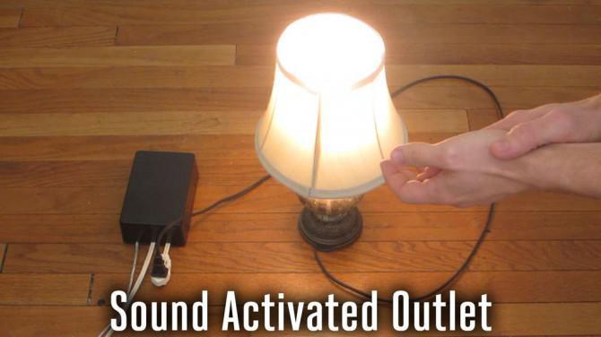 Sound aktiviert Outlet