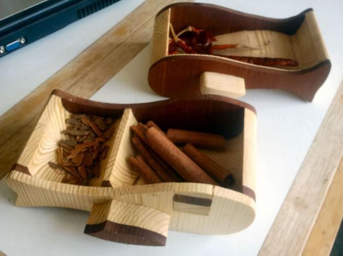 Spice Rack Bandsaw Schubladen