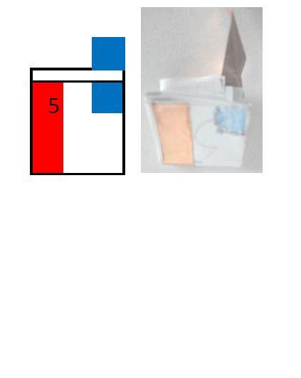 Batteriehalter aus Papier und Kupferband