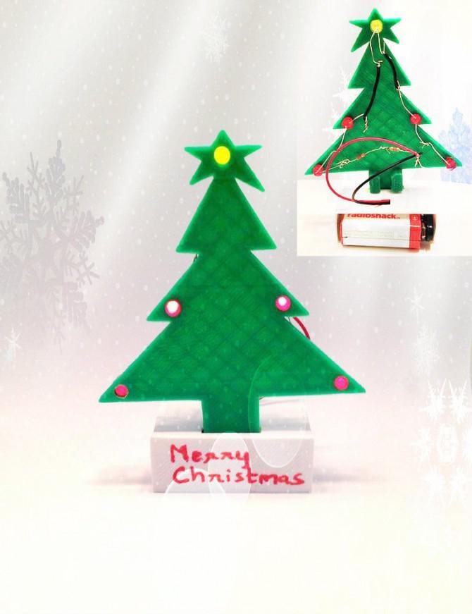 DIY Mini-Weihnachtsbaum - Geschenk für die jungen ...