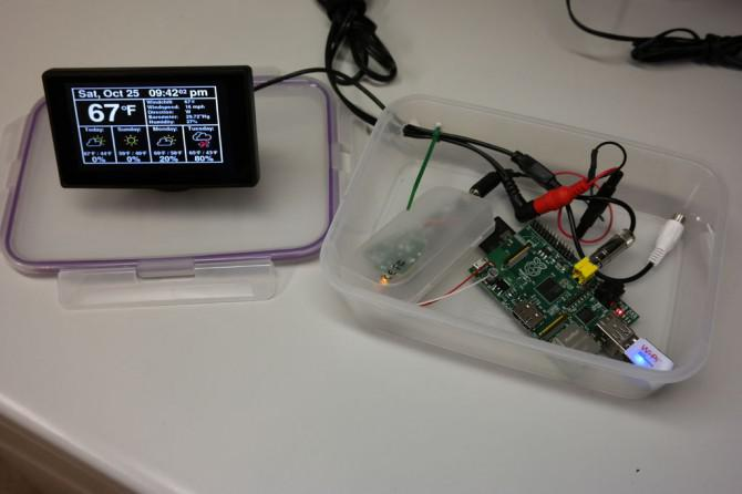 Raspberry Pi Internet Wetterstation