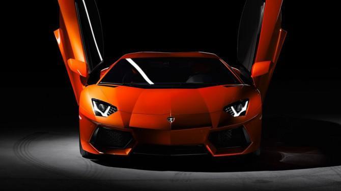 Lamborghini Flugzeug
