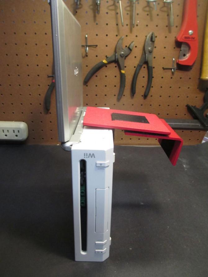 Erstellen Sie eine Low-Cost-Laptop Tragbare Wii