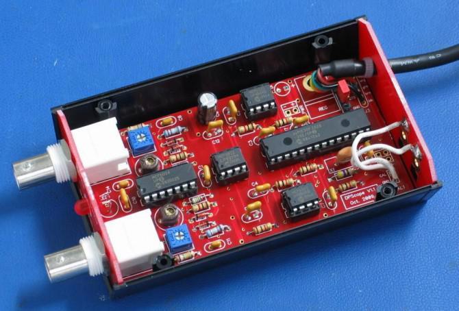 DPScope - Bauen Sie Ihr eigenes USB / PC-basierte Oszilloskop