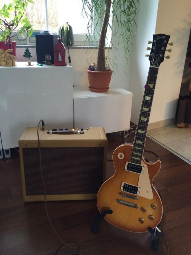 Fender Tweed Deluxe 5E3 Clone Körperbau basierend auf TAD Tweed ...