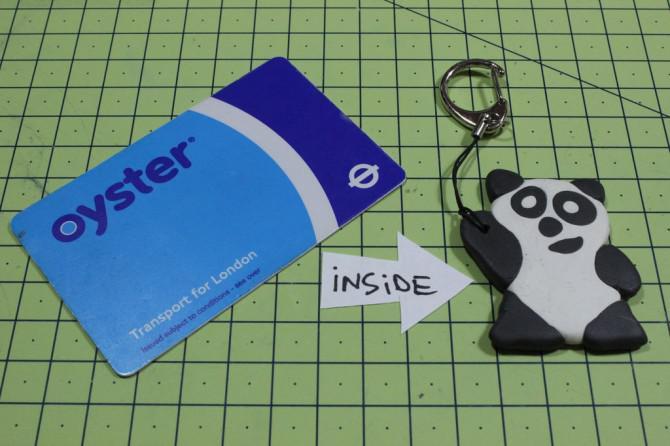 Verwandeln Sie Ihre Oyster Travelcard mit Sugru!