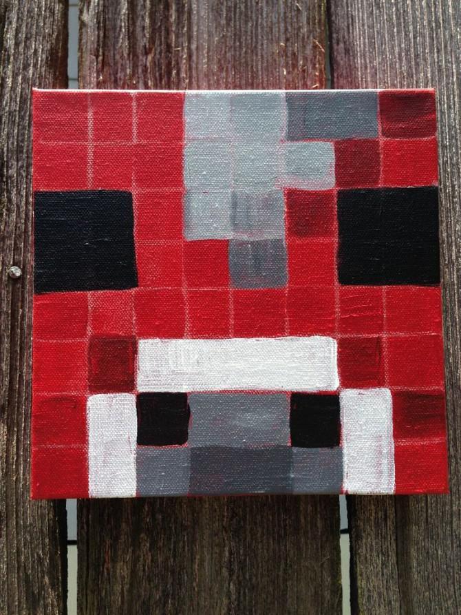 Wie Zu Malen Minecraft Faces Creeper Pig Stampy Cat Enderman