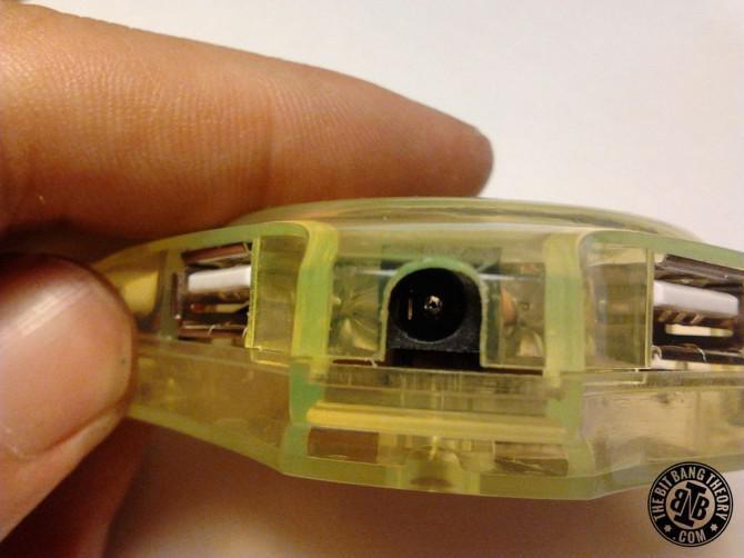 Hinzufügen einer externen Stromversorgung, um eine billige USB-Hub