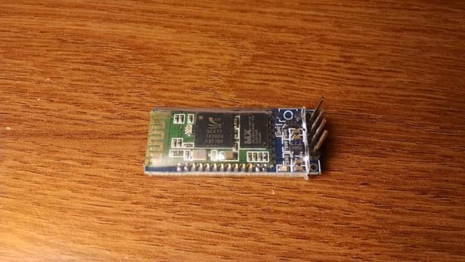 In Einfache Bluetooth zu Arduino