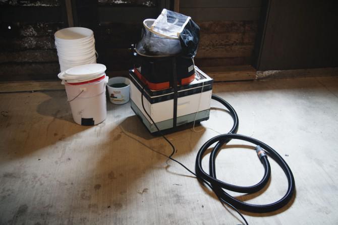 Lassen Sie eine Luft Vacuum, die wirklich zum Kotzen