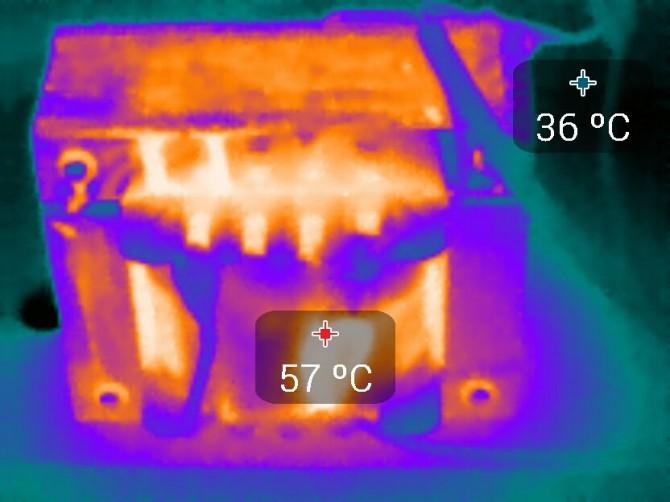 Basic (Qualitative) Die Verwendung einer Wärmebildkamera.