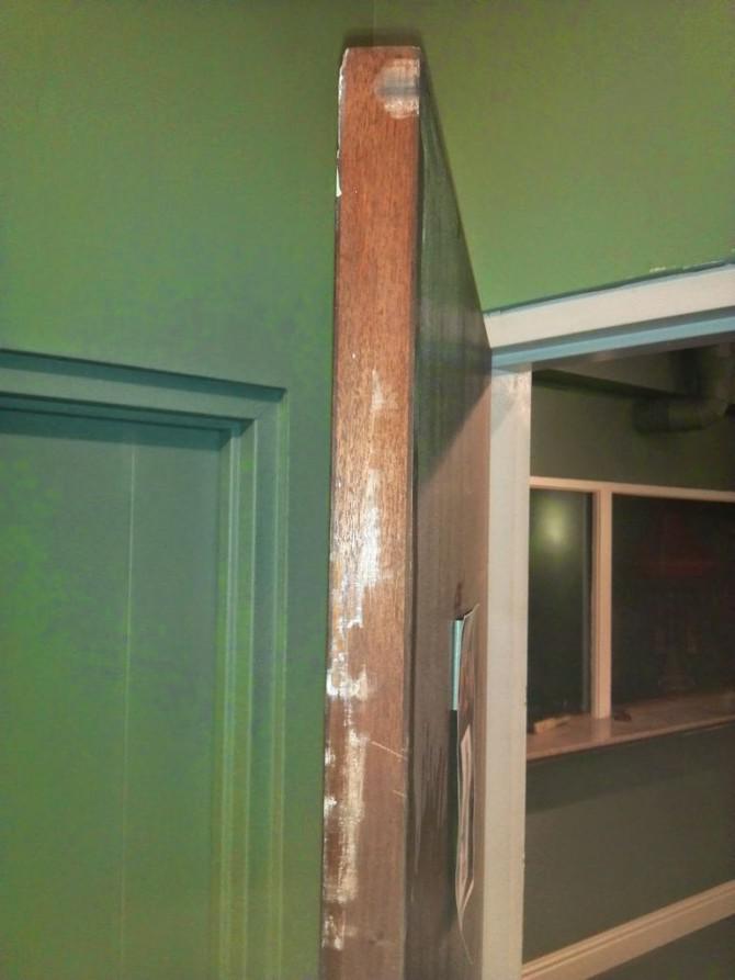 Unstick eine Holztür mit einem Dremel Multi-Max