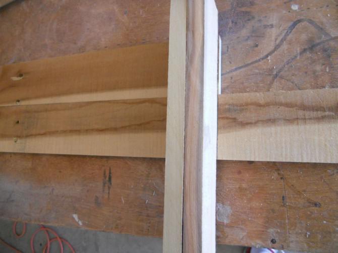 Einen Rustic Shadow Box, Palettenholz
