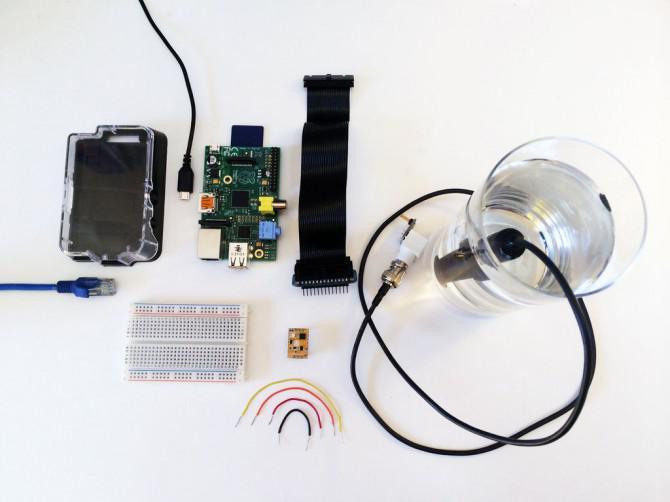Plotly + Atlas Scientific: Graph in Echtzeit für gelösten Sauerstoff mit Raspberry Pi
