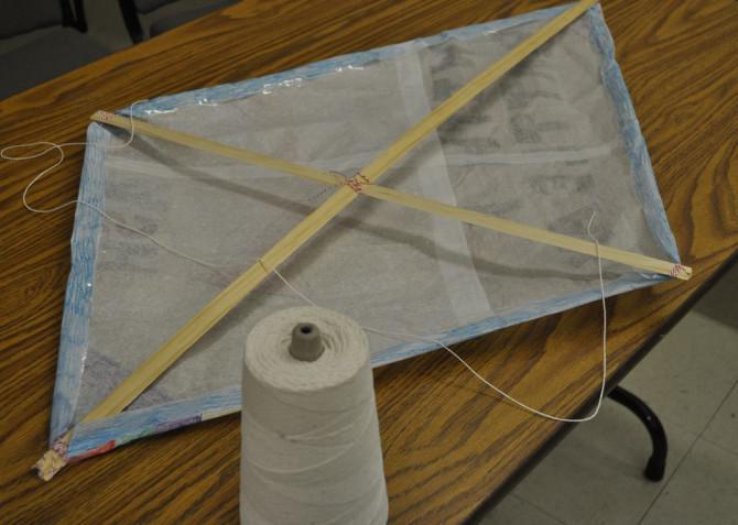 DIY Papierdrachen