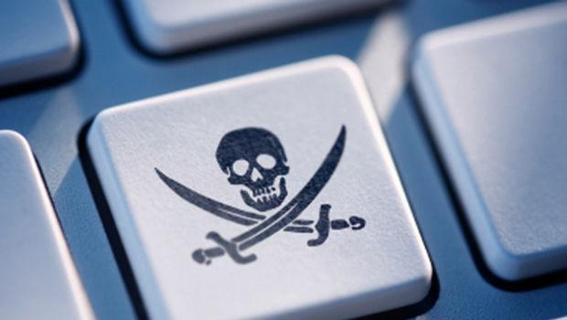 Die Piraterie, die überwältigen und die Kriminalität.