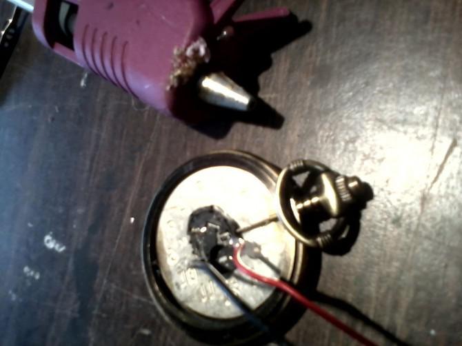 Flower-Power-Uhr oder einem schmutzigen Zeit peice