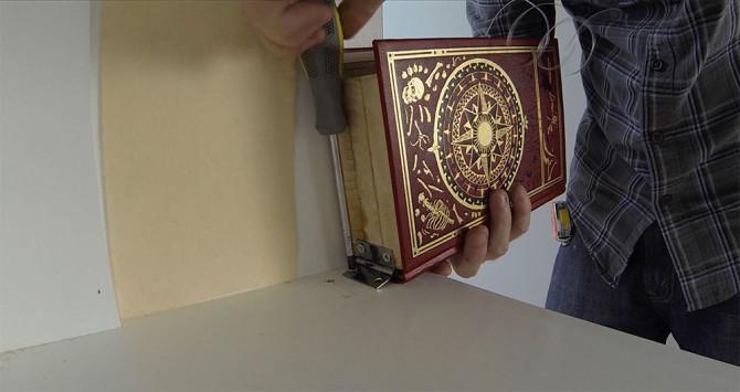 Wie man eine Geheimtür / Bücherregal machen