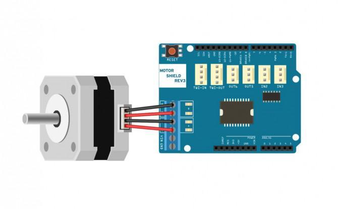 Arduino Schrittmotoren