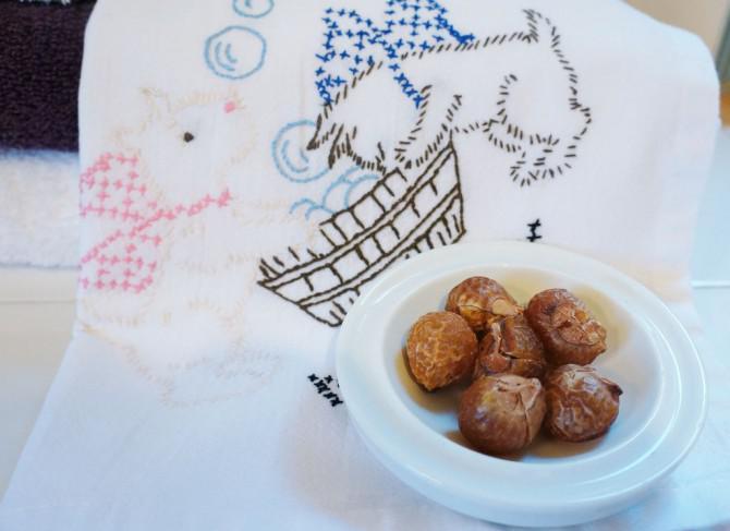 Wie Verwenden von Eco Friendly Soapberries für Wäsche