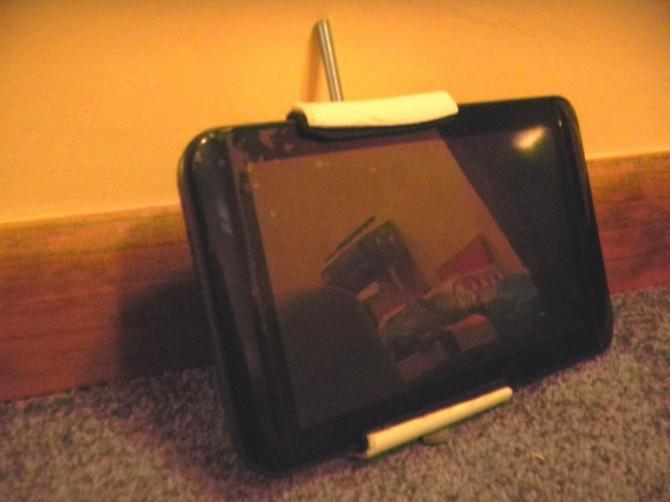 Einfache Tablet / Smartphone Stativbefestigung