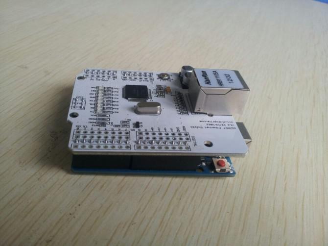 Führen Ethernet Schild auf Arduino