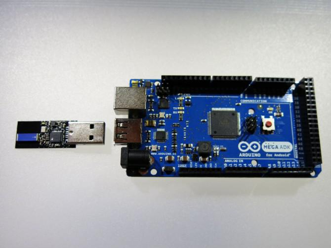 Steuern Sie einen Arduino Mit einer Armbanduhr (TI eZ430 Chronos)