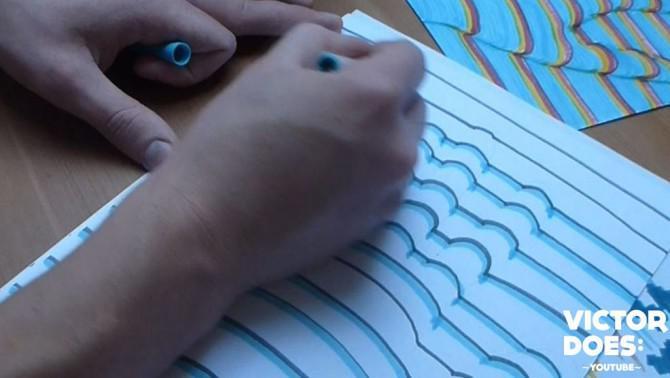 Zeichnen Sie Ihre Hand in 3D - DIY Tutorial