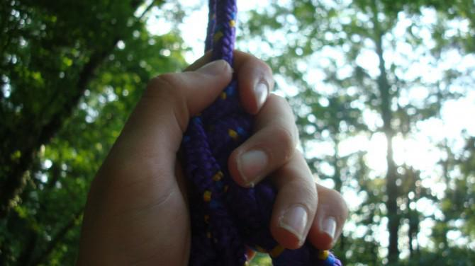 Wie man einen Baum zu klettern (nur mit Seil!) Den Spaß / einfache Art und Weise
