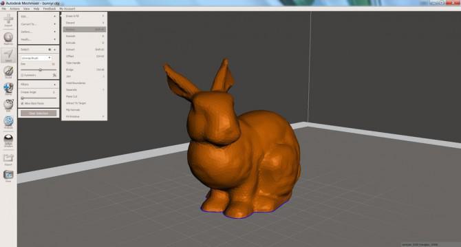 Erstellen Low Poly Art von 3D-Modelle