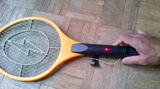 Bug Zapper Batteriewechsel