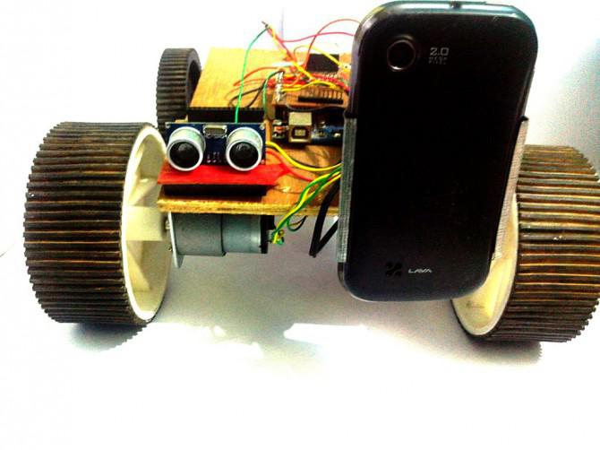 Arduino Robot V2 (Fast) auch sprachgesteuert