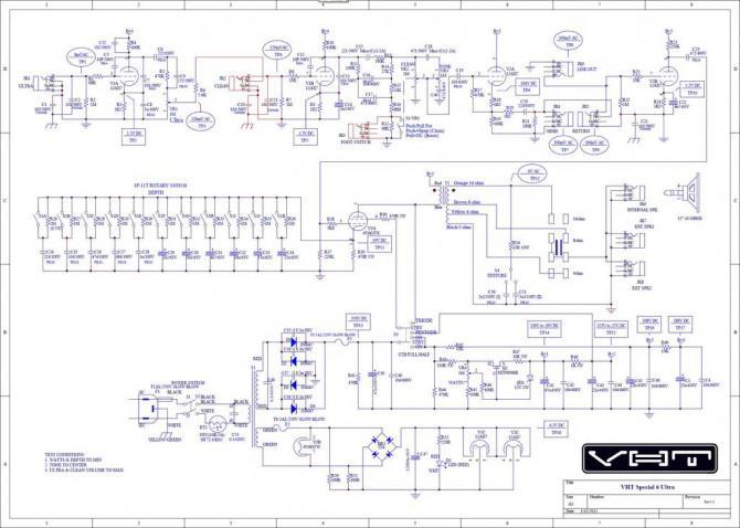 VHT Sonder 6 Ultra Kanal-Schalt mod (inkl. Fußschalter)
