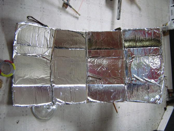 Solarkocher parabolisch mit der mechanischen Mathematiker!