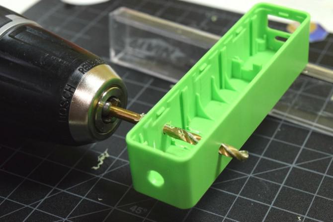 Wasser angetriebene Taschenlampe (v2)