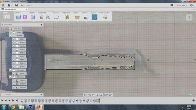 Kopieren Sie ein Auto-Schlüssel mit einem 3D-Drucker